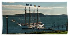 Margaret Todd - Bar Harbor Icon Beach Sheet