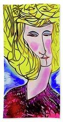 Maria Beach Sheet by Ted Azriel