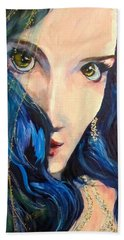 Mariah Blue Beach Towel