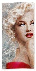 Marilyn Danella Ice Beach Towel