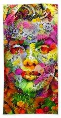 Marilyn Flower Beach Sheet