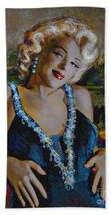 Marilyn Monroe 126 Monalisa Beach Towel