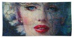 Marilyn Monroe 132 A Beach Towel