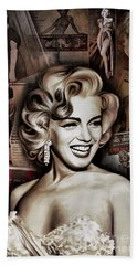 Marilyn Monroe 4  Beach Towel