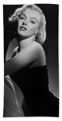 Marilyn Monroe Beach Towel by American School
