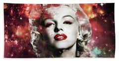 Marilyn Monroe   Colorful  Beach Towel