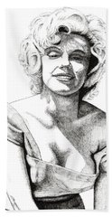 Marilyn Monroe Beach Sheet