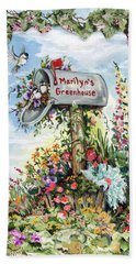 Marilyn's Greenhouse Beach Sheet