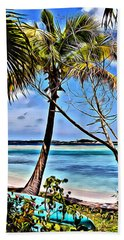 Marina Cay View Beach Towel