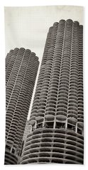 Marina City - Chicago Beach Towel