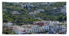 Marina Grande, Isle Of Capri Beach Towel