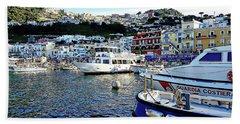 Marina Grande - Isle Of Capri Beach Towel