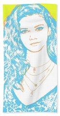 Marina Nery Pop Art Beach Towel