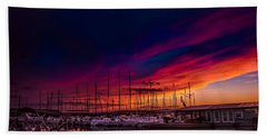 Marina Sunset Beach Sheet