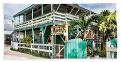 Marin's On Caye Caulker Beach Towel