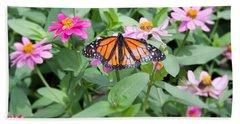 Mariposa Monarca - Brookside Gardens-maryland-usa Beach Towel