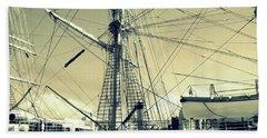 Maritime Spiderweb Beach Sheet by Susan Lafleur
