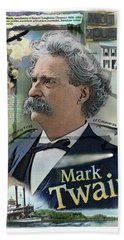 Mark Twain Beach Towel