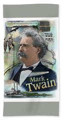 Mark Twain Beach Towel