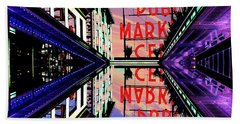 Market Entrance Beach Towel by Tim Allen
