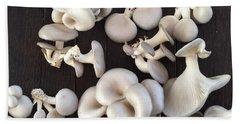 Market Mushrooms Beach Sheet