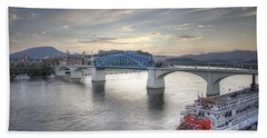 Market Street Bridge Beach Towel