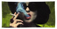 Marla Singer Beach Towel