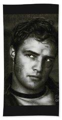 Marlon Brando - Painting Beach Towel