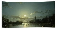 Marlow On Thames Beach Towel