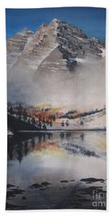 Maroon Bells Beach Towel