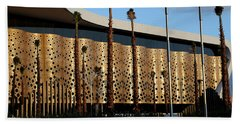 Beach Towel featuring the photograph Marrakech Airport 1 by Andrew Fare