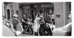 Marriage In Santa Fe Beach Towel