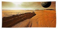 Mars Beach Towel
