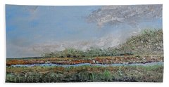 Marsh View Beach Towel