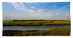 Marshland Charleston South Carolina Beach Sheet