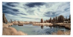 Marshlands In Washington Beach Towel