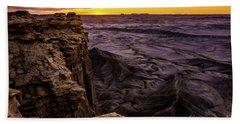 Martian Landscape On Earth - Utah Beach Sheet by Gary Whitton