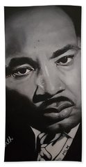 Martin Luther King Beach Towel