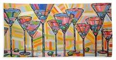 Martini Hour Beach Sheet