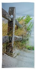 Marvel Of An Ordinary Fence Beach Towel by Patrice Zinck