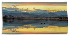 Beach Towel featuring the photograph Marvelous Mccall Lake Reflections by James BO Insogna