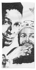 Marvin Gaye Tribute Beach Towel