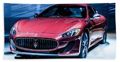 Maserati Beach Towel