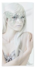 Masquerade In White Beach Sheet
