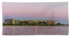 Massachusetts Maritime Academy At Sunset Beach Sheet by Brian MacLean