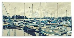 Mast Reflection Beach Sheet