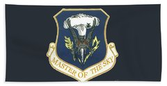 Master Of The Sky Beach Towel