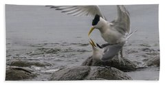 Beach Towel featuring the photograph Mating Pair 2 by Werner Padarin