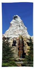 Matterhorn Disneyland Beach Towel