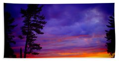 Maudslay Sunset 2 Beach Towel